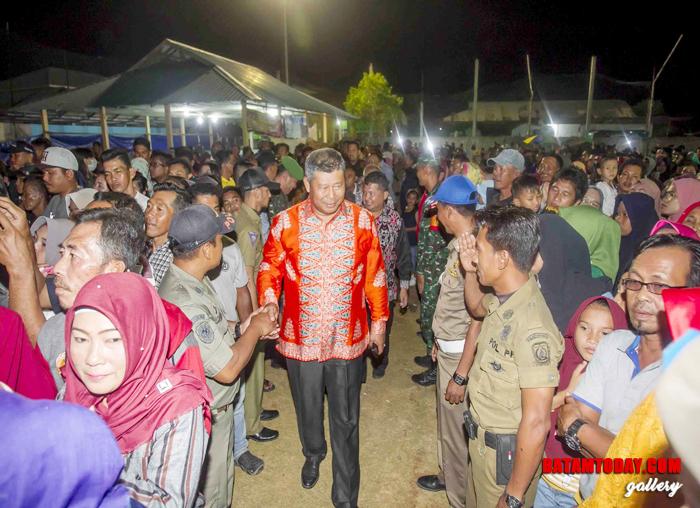 Bupati dan Wakil Bupati Anambas disambut antusias masyarakat Kecamatan Palmatak