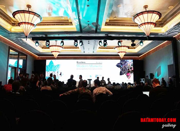 Suasana saat kegiatan IMF - WBG 2018