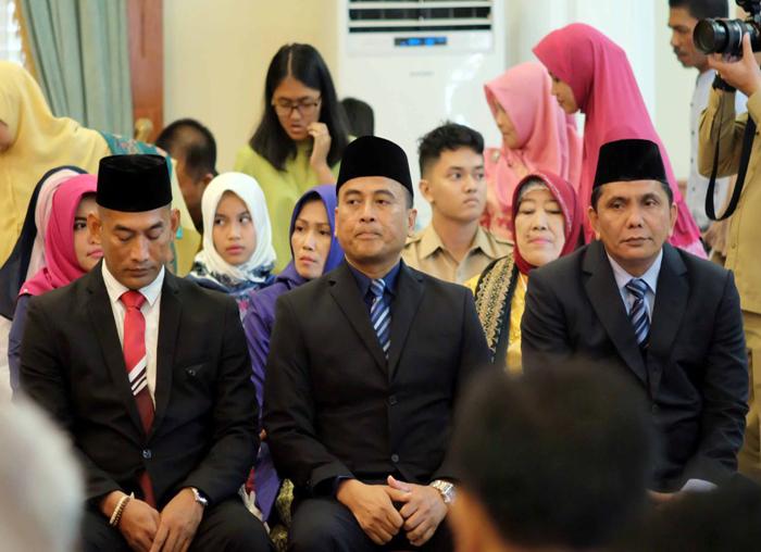 Ketiga Direksi BUP PT Pelabuhan Kepri menunggu dilantik