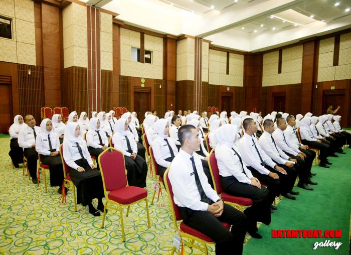 Para peserta Latsar CPNS Golongan II Kabupaten Kepulauan Anambas