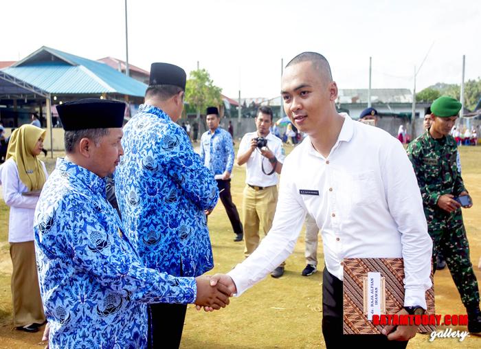 Wakil Bupati sampaikan salam kepada CPNS lulusan 2018