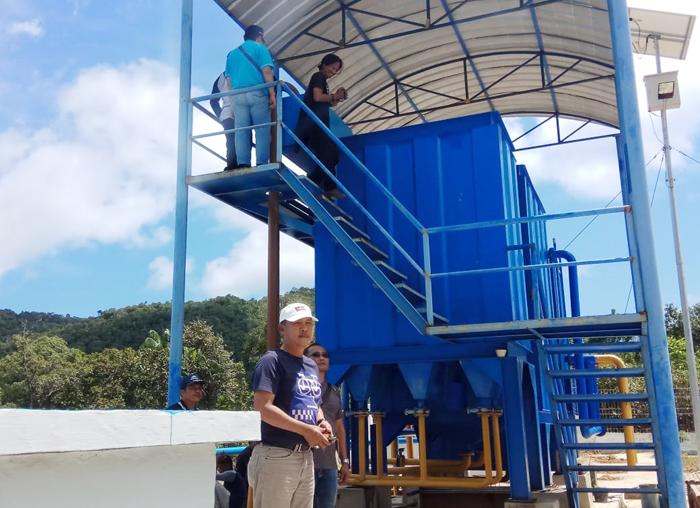 Proyek pembangunan SPAM Tambelan