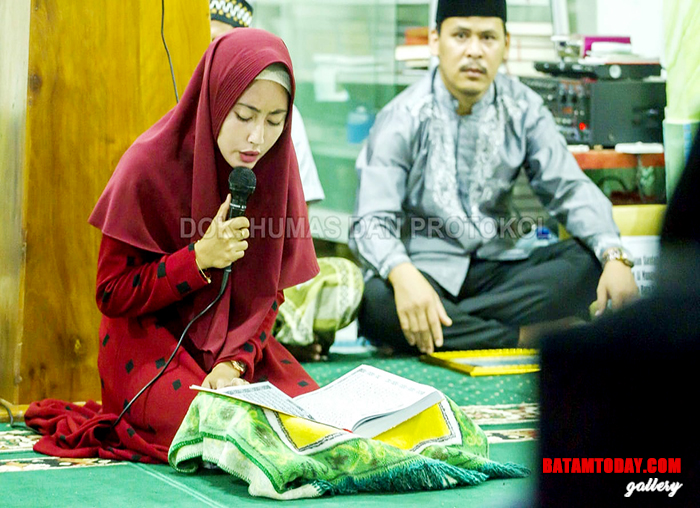 Lantunan ayat suci Al-Qur`an saat safari Ramadan