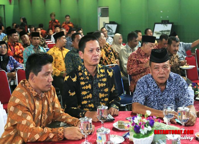 Anggota DPRD Anambas, Raja Bayu Febrigunadian saat menghadiri acara Musrenbang
