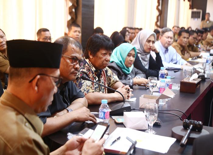 Anggota Komisi IV DPRD Kepri juga turut memberikan masukan tentang kisruh PPDB