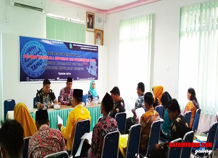 Sosialisasi terkait PPID di Kecamatan Siantan