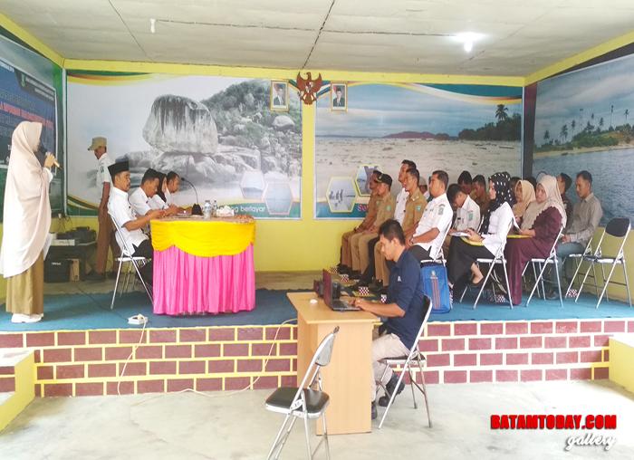Antusias perwakilan desa dan Kecamatan Siantan Timur yang menghadiri sosialisasi PPID