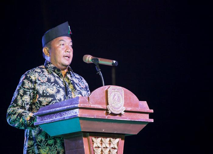 Kepala Dinas Pariwisata Kabupaten Kepulauan Anambas melaporkan secara singkat kegiatan Festival Padang Melang