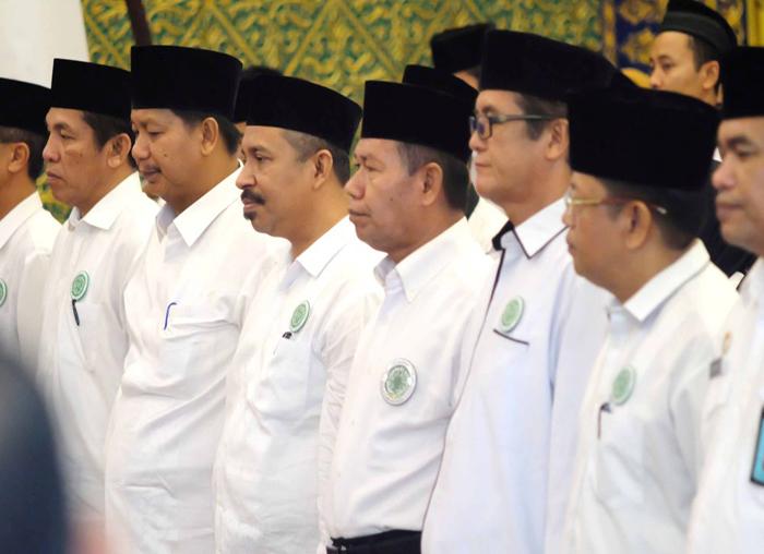 Pengukuhan pengurus dan relawan Ganas Anar MUI Kepri