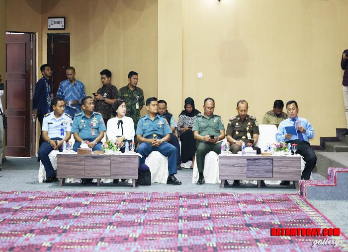 FKPD hadir dalam Rapat Paripurna Penyampaian Nota Keuangan dan Ranperda APBD Provinsi Kepri TA 2019