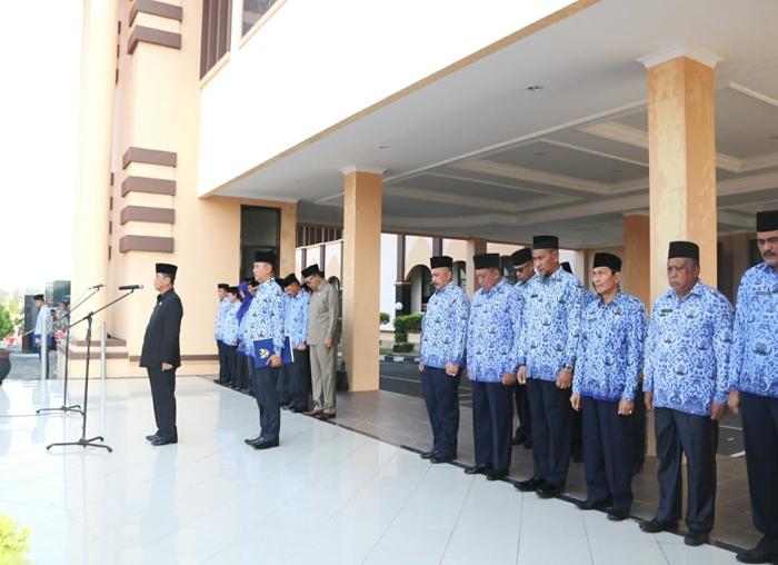 Suasana upacara Hari Kesaktian Pencasila (2)