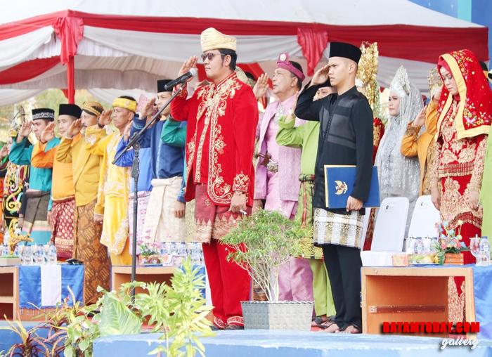 Seluruh OPD Bintan dalam peringatan Sumpah Pemuda 28 Oktober