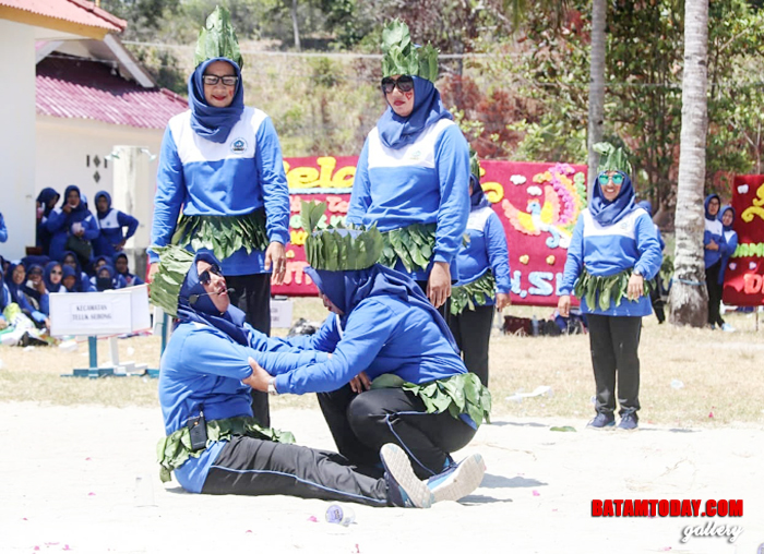 Salah satu kegiatan di Jambore Kader Posyandu Untuk Bintan Sehat