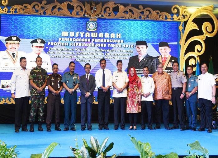 Sejumlah Unsur Pimpinan dari FKPD Pada Musrenbang Provinsi Kepri