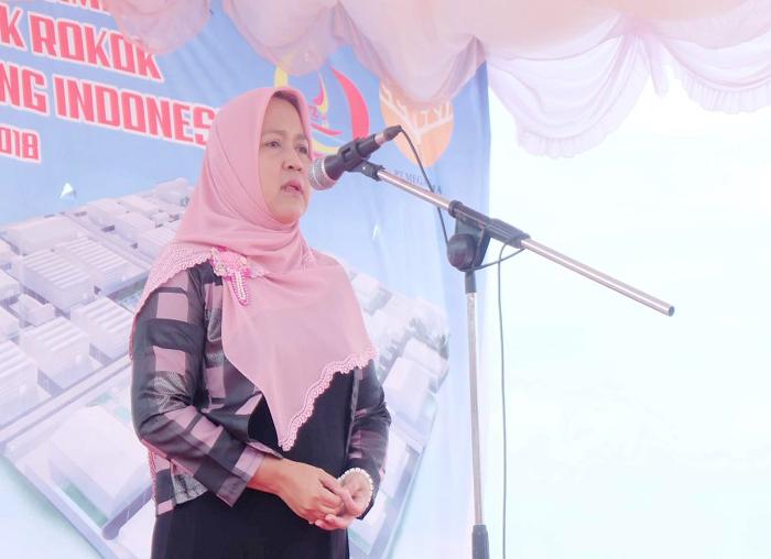 Kepala BP Kawasan Tanjungpinang-Bintan saat menyampaikan pidato