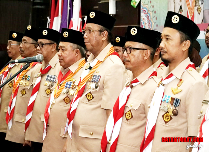 Ketua dan Pengurus Kwarcab Pramuka Kabupaten Karimun