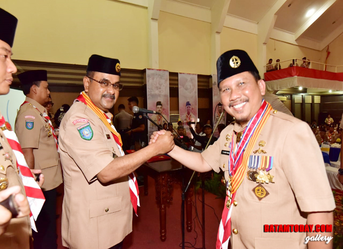 Salam Komando Dr. H. Aunur Rafiq,S.Sos, M.Si dan Dr.T.S.Arif Fadillah,S.Sos,M.Si