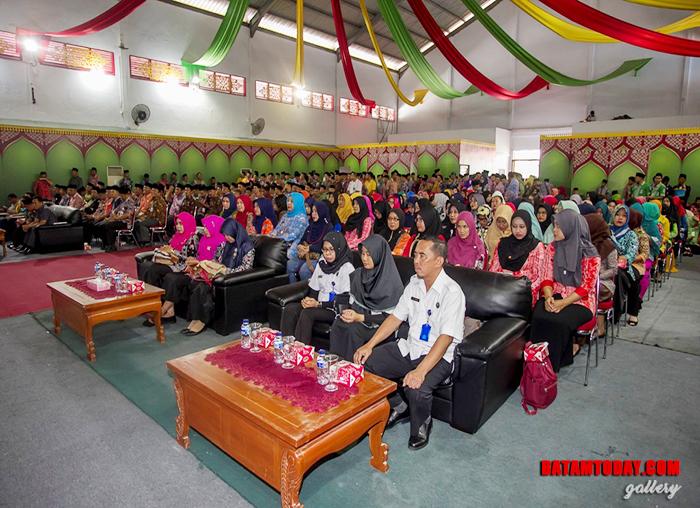 Suasana BPMS pada penandatanganan nota kesepahaman antara Pemkab Anambas dengan BNNP Kepri
