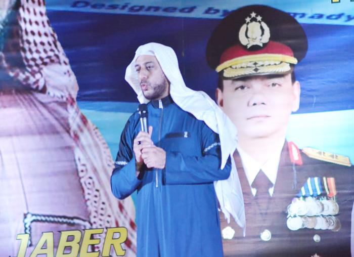 Ustadz Syeikh Ali Jaber memberikan ceramah pada Tabligh Akbar 1 Muharram 1440 H Provinsi Kepri