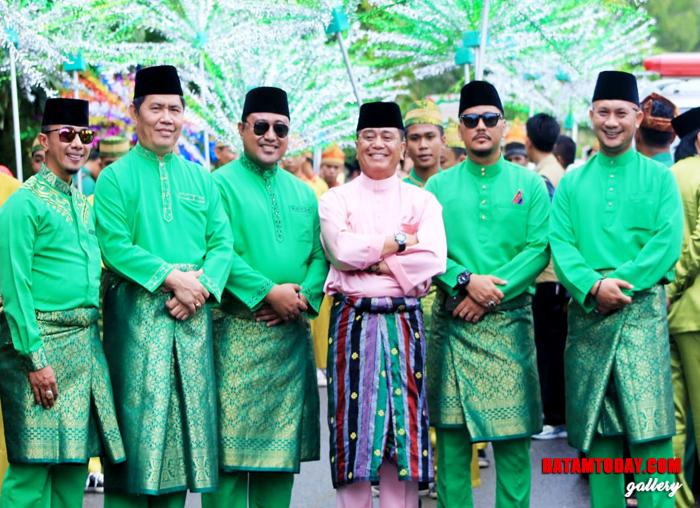 Wakil Bupati Bintan Dalmasri Syam dalam Pembukaan STQ Kepri di Bintan