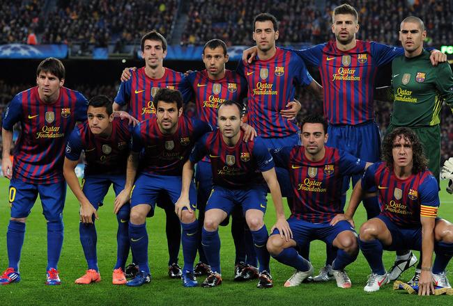Skuad Barcelona, foto:FCbarcelona.com