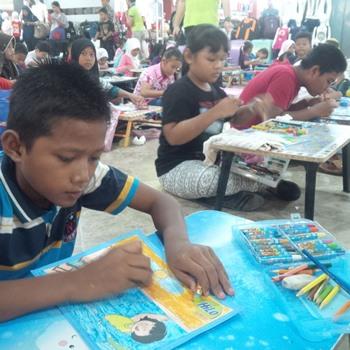 Final Hilo Drawing Competition 2016 Diikuto 150 Peserta