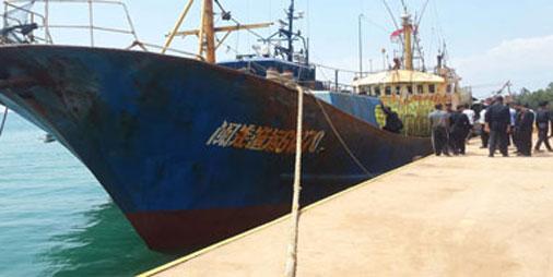 4 Tersangka Penyelundup 16 Ton Sabu Sempat Merusak Mesin Kapal Dan