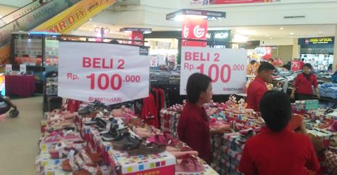 Matahari Kepri Mall Gelar Promo Fladeo Kids Rp 100 Ribu Dapat 2 Pasang